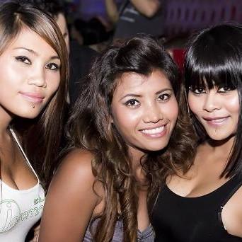 Three horny busty lesbian girls got all