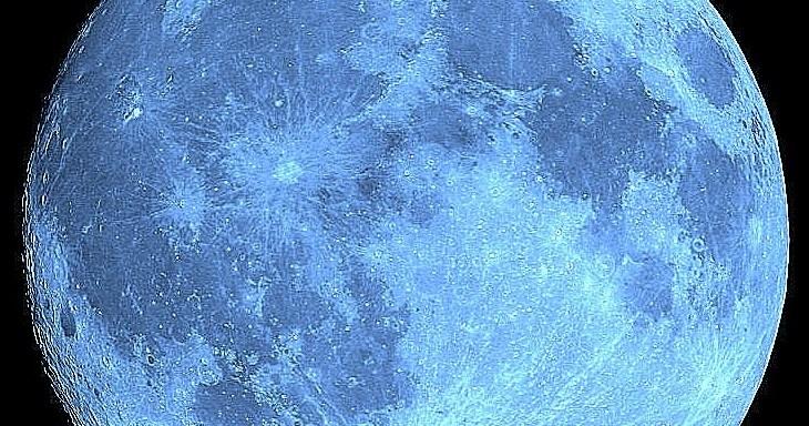 ดวงจันทร์สีน้ำเงิน blue moon