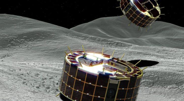 ยาน Rover สำรวจดาวเคราะห์น้อย Ryugu