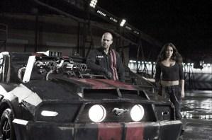 映画『デス・レース』の一場面