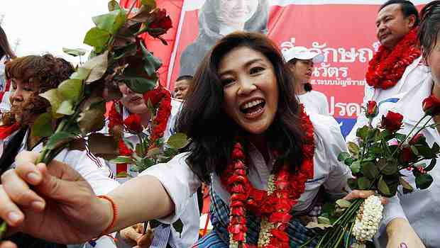 Ms Yingluck Shinawatra, probably the nest Prime Minister of Thailand