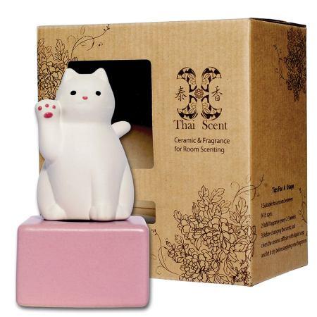 lucky cat 擴香精禮盒 (三款香氣任選)