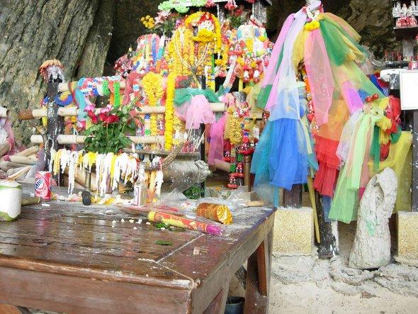 Tham Phra Nang (Princess Cave), Krabi