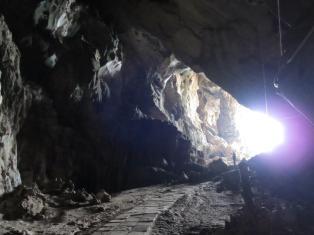 Vchod do jeskyně Erawan