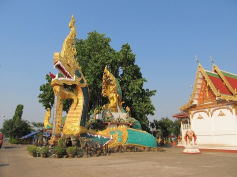 Nága ve Wat Luang 2015