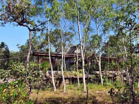 Wat Tham Puang - chatka mnicha