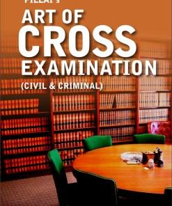 Pillai-The-Art-of-Cross-Examination-Civil-Criminal-Paperback