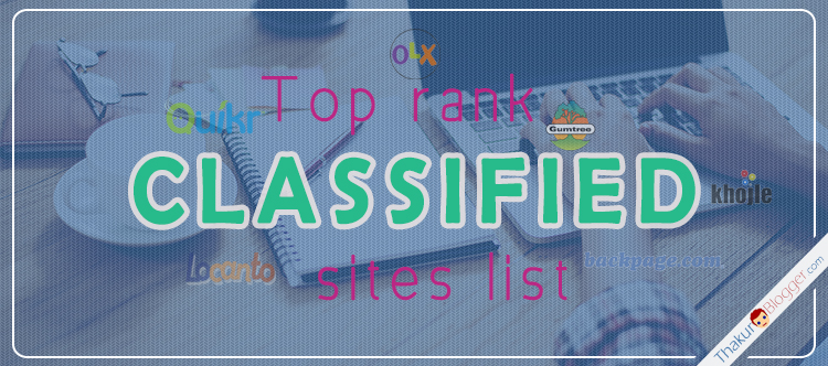 100 free classified sites list 2015 | Thakur Blogger