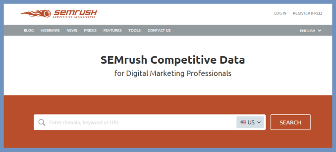 SEMRush - Keyword Rank Checker Tool | Thakur Blogger
