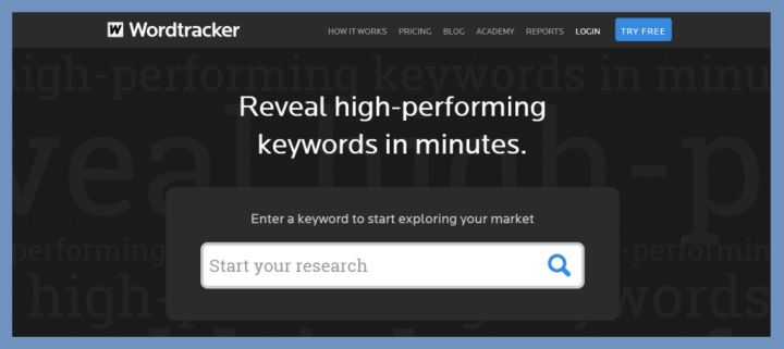 Word Tracker Keyword tool | Thakur Blogger