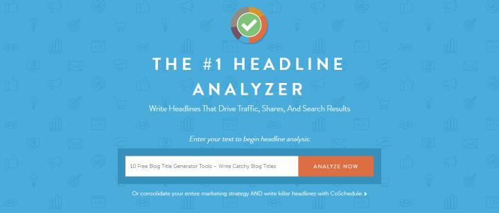 coshedule title tool - Free Blog Title Generator Tools