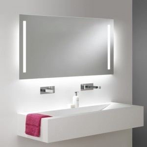 Miroir Salle De Bain 50 Cm Visio Retroeclairage Led