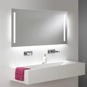 Miroir Salle De Bain Visio 150 Cm Retroeclairage Led