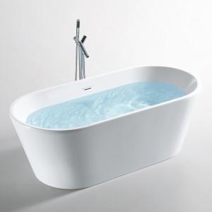 baignoire ilot 160 cm lounge en solid