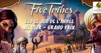 Five Tribes - Jeu de l'année