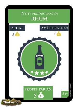 Rhum - Prohibition