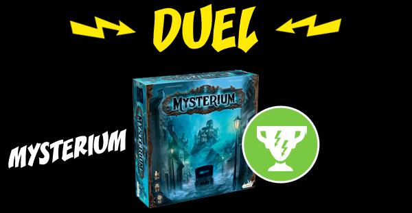 Mysterium reçoit le Trophée Duel