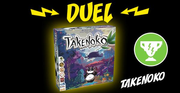Takenoko reçoit le trophée Duel de Thalwind