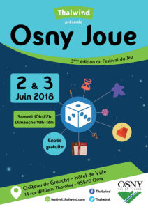 Osny Joue - Affiche