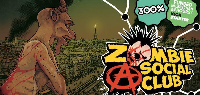 Zombie A Social Club, un jeu de cartes à succès sur Kickstarter