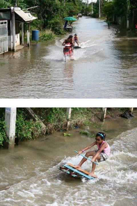 Surfing in Thailand