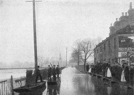 Goswells Flood 1894