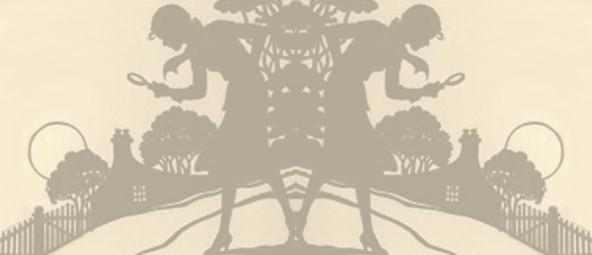 Phụ nữ cầm tinh thám tử