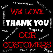 Thank You Our Customers