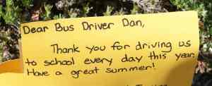 Thank You driver