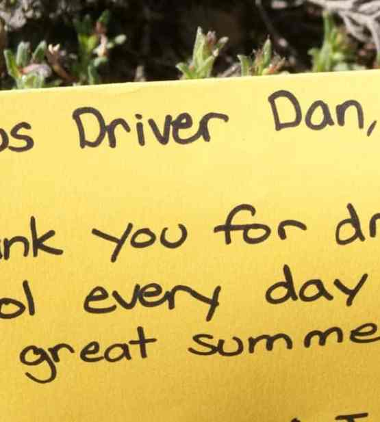 thank you messages for your driver