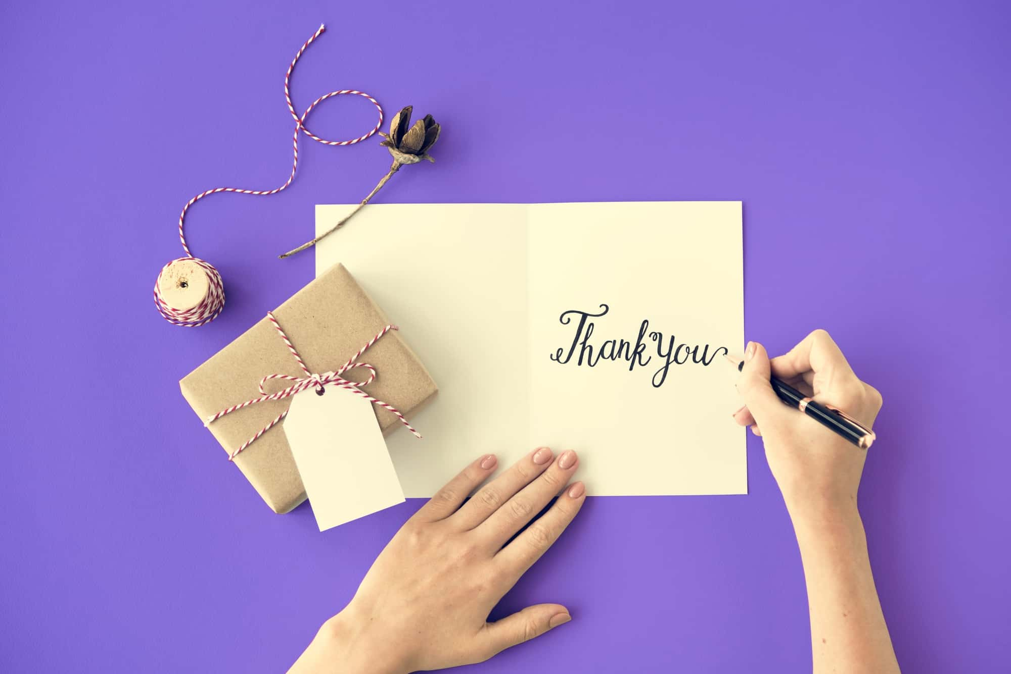 thank you card how to give thanks for the gifts you received