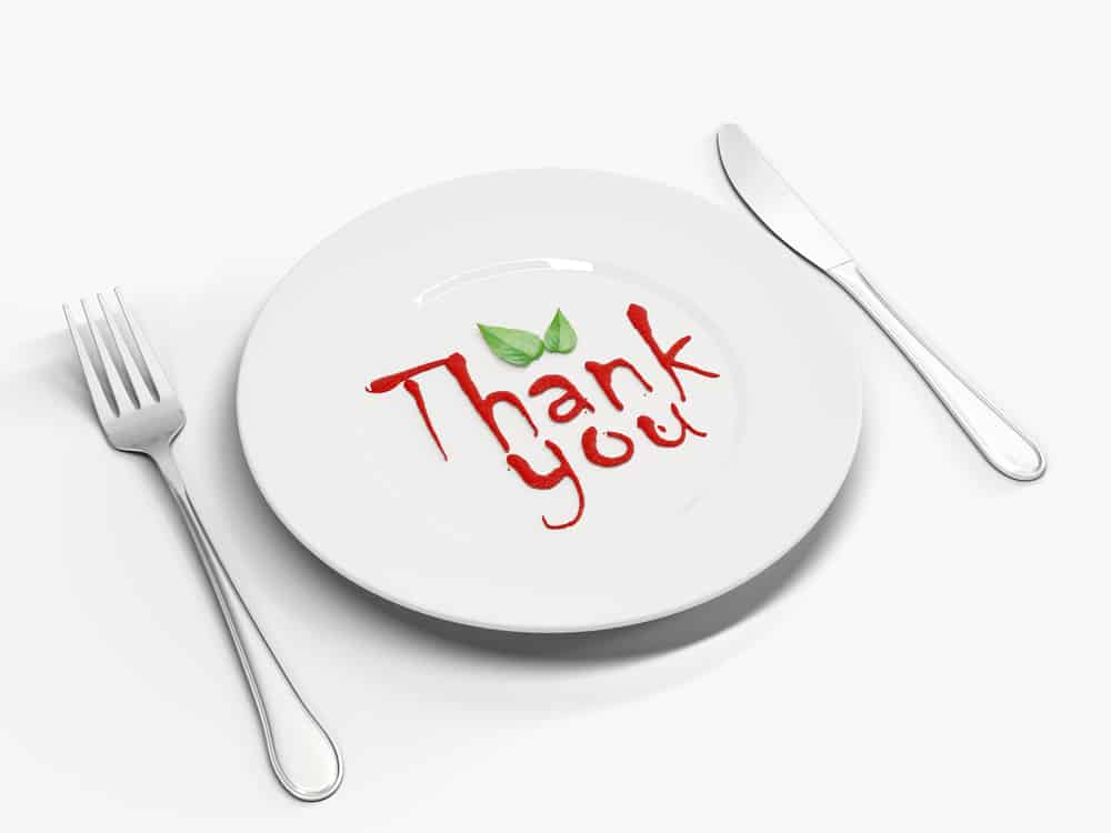 how to acknowledge a thank you note