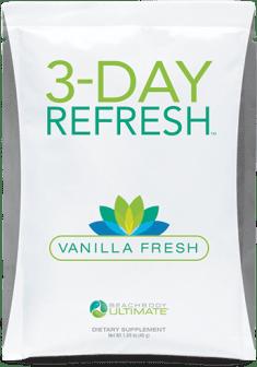 3 Day refresh Vanilla Fresh