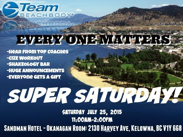 Try CIZE at Kelowna's Super Saturday