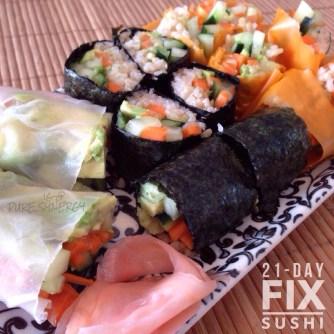 21 Day Fix Sushi