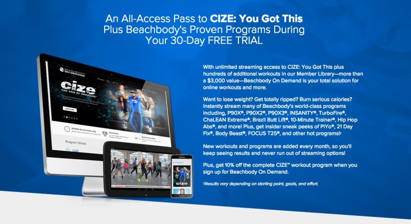 Try Cize for free Canada