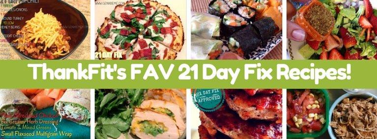 Best 21 Day Fix Recipes