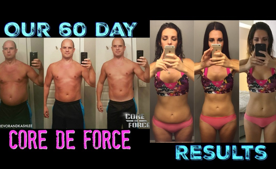 Our 60 Day Core De Force Test Group Results