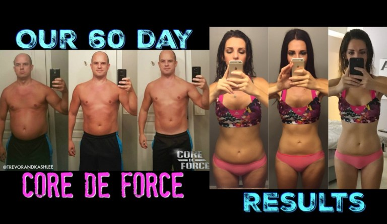 Core De Force weight loss results