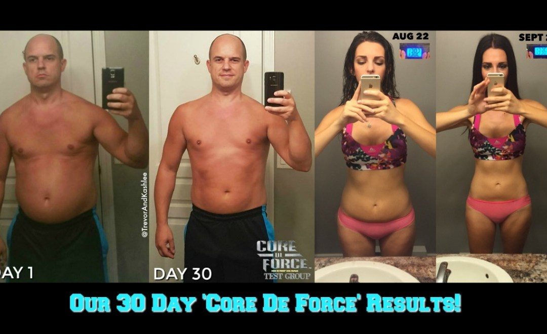 Our 30 Day 'Core De Force' Test Group Results