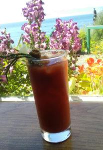 Sooke Harbor Bloody Mary