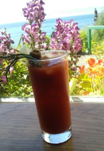 Sooke Harbor Bloody Mary