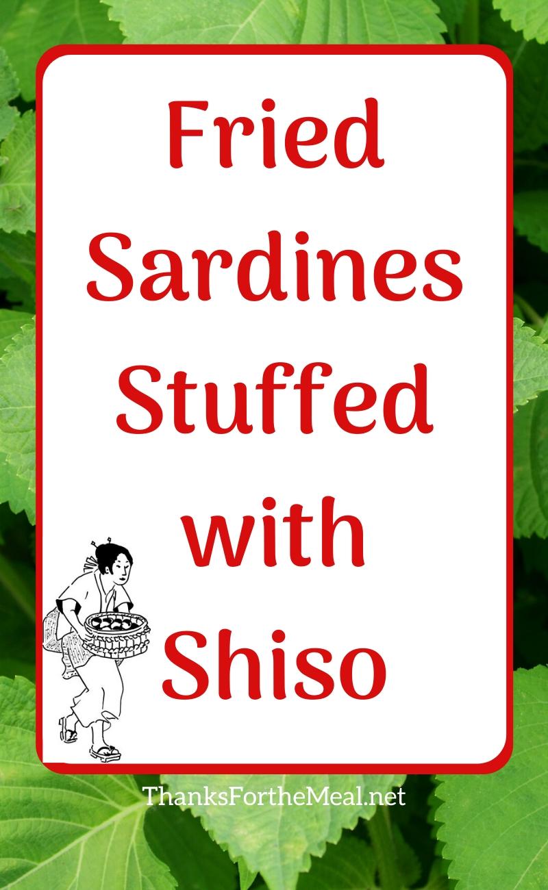 fried sardines shiso recipe