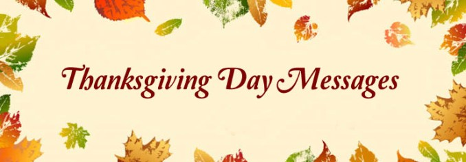 Thanksgiving Day Messages - Thanksgiving Wishes Wording & SMS