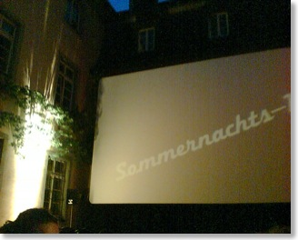 Open Air - Sommernachtskino in Freiburg