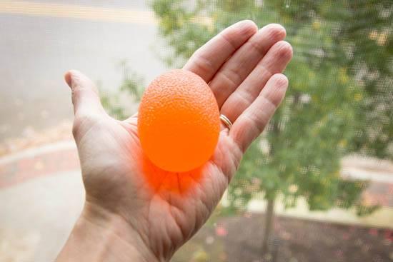 كرة اليد المطاطية