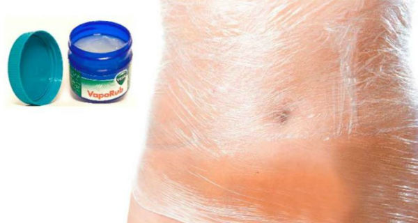 كريم Vicks VapoRub للتخلص من دهون البطن والسيلوليت2