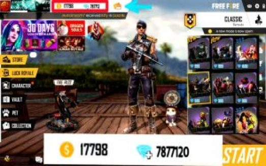 The best way to charge Free Fire gems in just 3 minutes, you will get the gems you want