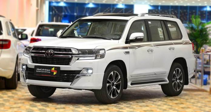 The strongest offers to install Toyota Land Cruiser 2021 from Abdul Latif for 700 riyals