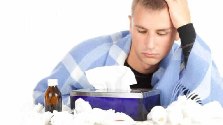 كيفية علاج الانفلونزا فى المنزل